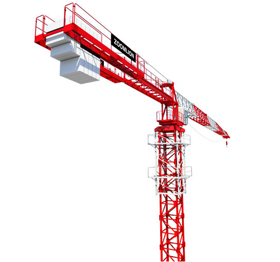 Zoomlion Launches the Largest Flat-top Tower Crane T3000 - DE